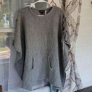 Madden NYC Sweater Poncho